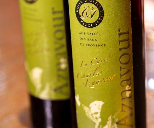 Huile d'olive- réserve Charles Aznavour